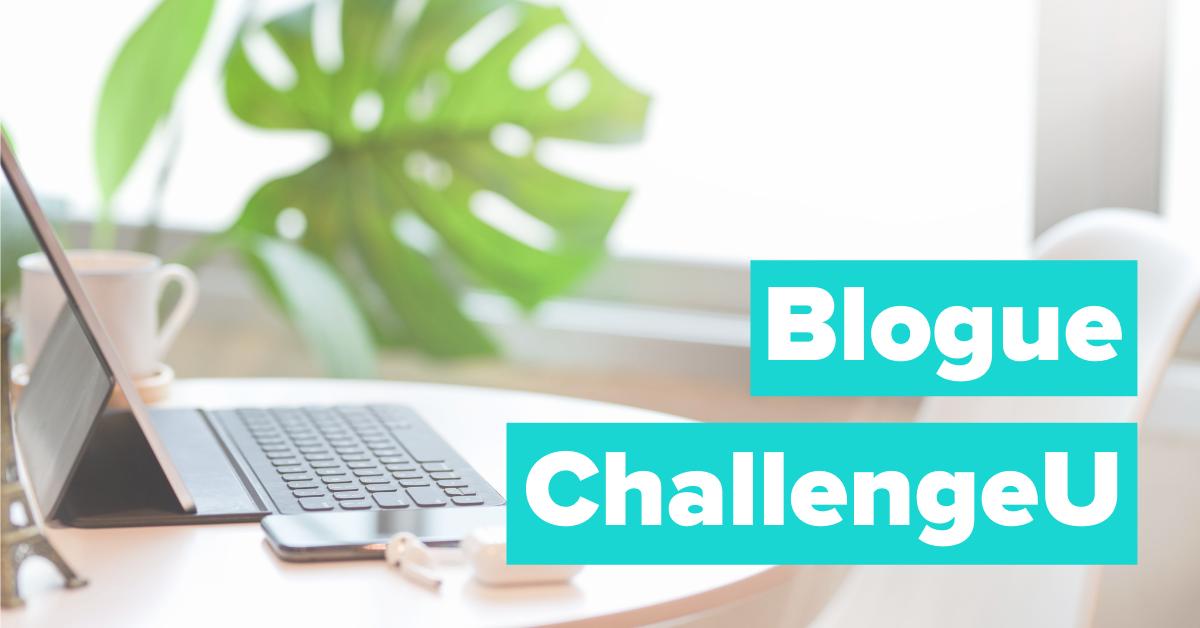 Blogue ChallengeU